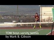 The Dalles Wahtonka varsity boys tennis.