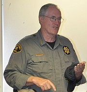 Sheriff Doug Giddings